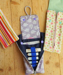 Tampontasche Rosi 1 (Two_tango) Tags: nähen sewing crafting täschchen taschen zipper cotton