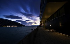 6 (Sergio Eschini) Tags: tromso viaggio travel norvegia normay snow december inverno winter crepuscolo natura landscape pier porto
