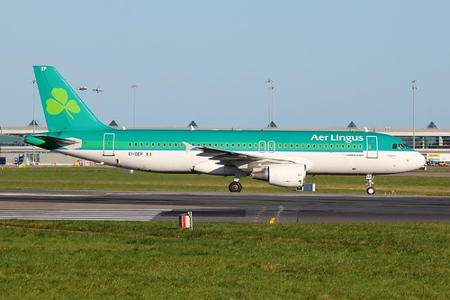 EI-DEP Airbus A320 @ Dublin Airport 6th November 2016