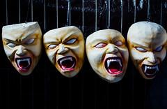 Ogoh-Ogoh Devil Masks (AdamCohn) Tags: adamcohn bali balinese balinesehinduism indonesia ogohogoh devil evil mask masks scary spirits statue wwwadamcohncom
