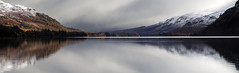 Watercolour (Griff~ography) Tags: ullswater lakedistrict cumbria panorama water snow reflections