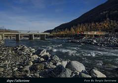 Dopo l'alluvione (after the flood) (celestino2011) Tags: ponte fiume crollo