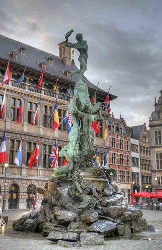 Antwerp Fountain