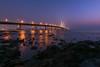 Mumbai - Bandra Worli Sea Link (ChetanRana) Tags: mumbai bwsl bandraworli sealink architecture cityscape arabiansea seascape evening colours hues city colourfulcity capital digitalblending photoshop