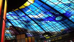 P1040015 (Nog-Z) Tags: 台湾 高雄 カオシュン 地下鉄 駅 taiwan kaohsiung subwaystation 美麗島駅 ステンドグラス formosaboulevardstation stainedglass