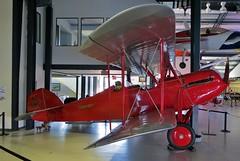NC3957 Waco GXE Model 10 @ Santa Monica Museum of Flying 26th July 2015 (_Illusion450_) Tags: smo ksmo santamonicaairport santamonicamunicipalairport cloverfield santamonicamuseumofflying museumofflying california museum losangeles 260715 santamonicamuseum flying aircraft nc3957 wacogxemodel10 waco gxe
