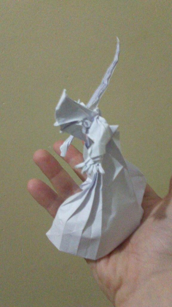 Wizard Satoshi Kamiya Matamadae Tags Origami Papercraft