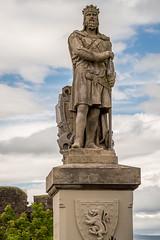 Robert the Bruce (IceNineJon) Tags: unitedkingdom scotland stirlingshire stirlingcastle greatbritain stirling photography europe canon5dmarkiii roberti 5dm3 britain robertthebruce uk esplanade