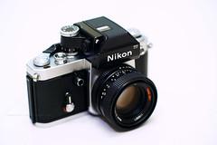 Nikon F2 with Rollei-HFT Planar 1.8/50 modified to Nikon mount (Steve only) Tags: nikon f2 rolleihft planar 1850 cameraandlens sony nex3 mc jupiter9 285 852 85mm f20 m42 mitakon lensturbo