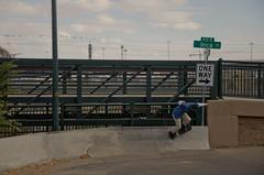  One Way  (AWDPWNZ) Tags: skate skateboard skateboarding skateboarder board bored friends fun summer nikon sk8 or die thrasher wall ride one way street streets extreme red bull co colorado rado denver