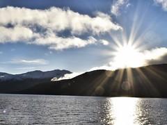 Inversnaid/ Aberfoyle (Anne Young2014) Tags: winter sunshine lochlomond sunflare trossachs inversnaid