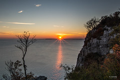 Sistiana Autumn Sunset, Italy (s.austinukit) Tags: sunset carso sea adriatic nature nikon sigma 1020 f35 autumn