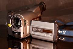 1997 Sony  Handy cam Visión CCD TVR 34  8mm video camera  , it still works ! (davidrove65) Tags: ef28135mmf3556isusm canon eosrebelt4i