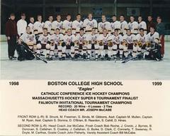 (BC High Archives) Tags: 1998 1999 hockey strunk mccabe freeman binda gibbons mullen ryanm slonina obriend reardon cahill hines rochebob cronin byrnes donovan callahan coakley burkeg clark connerty sweeney doyle carthas flahertyjohn
