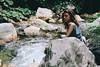 Rosa (Gianluca De Simone) Tags: girl portrait ritratto ragazza outdoors esterno fiume river lago lake stream water ruscello rocce roccia rock avventura adventure freedom libertà semplicità simplicity green film pellicola superia 100 fuji memories ricordi nostalgia homesickness