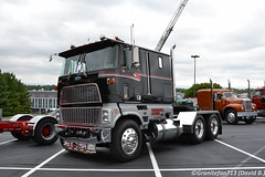 Ford CL9000 Tractor (Trucks, Buses, & Trains by granitefan713) Tags: truck bigtruck bigrig showtruck cabover coe antiquetruck vintagetruck classictruck ford fordtruck fordcabover tandem tandemaxle sleeper sleepertractor fordcl9000 cl9000