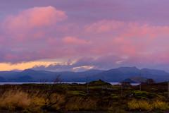 Iceland (SGChick) Tags: iceland sunset canon nikon city skyline golden pink nd filter polar panorama pano mountains tamron paris france venice italy venezia black white d610
