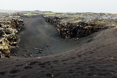 Between Continents (Daniel Regner) Tags: fuji fujifilm x100t vacation tourism icelandic iceland bridge between continents landscape land earth geology geological plates continential cool neat black sands