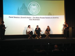 Pane discussion Day 1 (Panayiotis Georgiou) Tags: london mogulcon conference 2016 startups sme start learn grow succeed