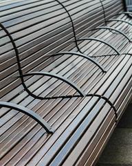 Bench Abstract (Oleg S .) Tags: seattle travel usa washingtonstate bench pattern