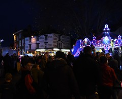 Banbury Lit by the Funfair
