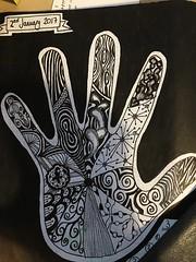 2: Doodle Hand (hooleish71) Tags: doodle zendoodle
