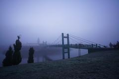 DSC08511 (cemilÖzenli) Tags: eskişehir fener adası gaga yaya köprüsü porsuk sonbahar pedestrian bridge sunrise autumn