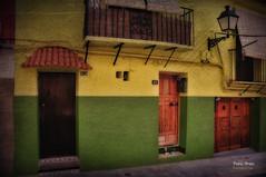 (389/16) 23 (Pablo Arias) Tags: pabloarias photoshop nxd texturas arquitectura espaa edificios colores verde villajoyosa alicante comunidadvalenciana