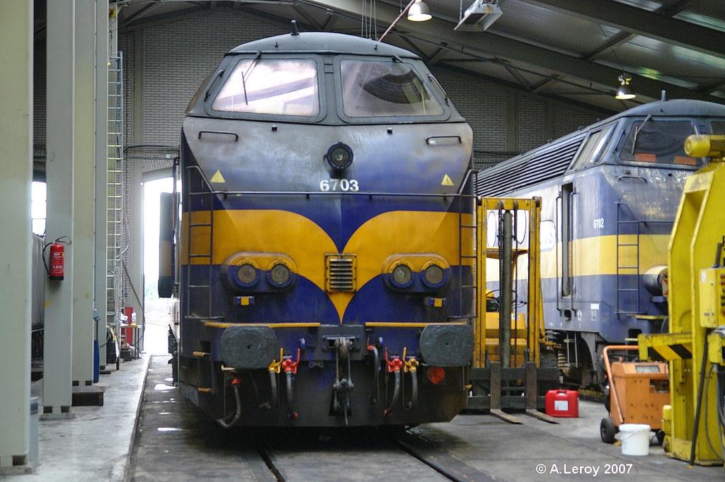 ACTS 6703 (ex SNCB 6391) Rotterdam Depot SSN 02-07-2007 (