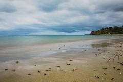 Shoreham (Thunder1203) Tags: beachsand daytimelongexposure hoyaprond1000 longexposure morningtonpeninsula ndfilter olympusomdem10 scenery sea shoreham water westernportbay