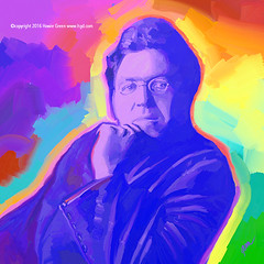NC Wyeth pop art portrait (Howie Green) Tags: nc wyeth pop art portrait