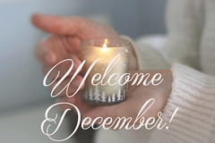 Welcome December! (Shahrazad_84) Tags: december cosy cosytime candle candlelight home hands bokeh season winter christmas christmastime