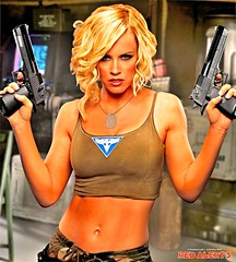 Sexy Allies Woman (dlee668) Tags: girls woman game sexy girl eyes blueeyes weapon blonde guns command strategy conquer fit weapons allies commandconquer redalert deserteagle fitty dualwield redalert3 commandconquerredalert3