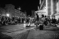 Ferrara Buskers Festival 2015 (Jacopo Aneghini Photos ) Tags: street musician monochrome monocromo cathedral streetphotography campanile buskers ferrara duomo busker biancoenero streetmusician blackandwhtie livemusicphotography