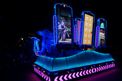 """Monsters, Inc. Dance Party Float • <a style=""""font-size:0.8em;"""" href=""""http://www.flickr.com/photos/28558260@N04/20500840600/"""" target=""""_blank"""">View on Flickr</a>"""