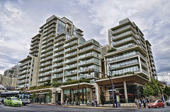 Victoria street scene (Norm_A) Tags: canada britishcolumbia streetscene victoria vancouverisland norma hdr condominiums norm nikond7000