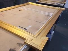 Gold frame (wearearchers) Tags: workshop archers westend theatreland goldframe thedukeofyorkstheatre farinelliandtheking