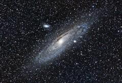 M31 Andromeda Galaxy (Ray Bellis) Tags: andromeda galaxy m31 astrometrydotnet:status=solved astrometrydotnet:id=nova1251836