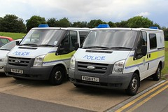 Lincolnshire Police Ford Transit Station Vans (PFB-999) Tags: ford station cell police headquarters cage lincolnshire transit lincoln vehicle leds van hq beacons grilles workshops unit lincs constabulary lightbars rotators fx59btz fx08ktj