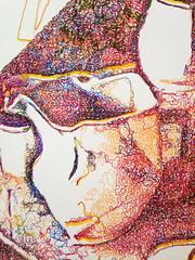 Jug 01 (exquisite.cadavre) Tags: life colour art pen painting still ceramics drawing machine pot jug tonal hatching
