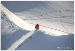 Fresh ice (Olivia Heredia) Tags: france alps ice alpes hiking verano cablecar eis chamonix francia glaciar hielo hdr highdynamicrange montblanc montañas aiguilledumidi alpessuizos rhônealps topofeurope tonemapped tonemapping 1exp oliviaheredia oliviaherediaotero
