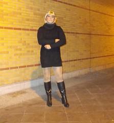 Sybille – Crossdressed Sybille at different locations around Berlin (Sybille Petzold) Tags: sexy drag crossdressing tgirl tranny crossdresser sybillepetzold