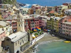 Vernazza. Cinque Terre. (elsa11) Tags: italy mediterranean italia liguria unescoworldheritagesite unesco explore cinqueterre vernazza unescoworldheritage mediterraneansea itali laspezia mittelmeer middellandsezee werelderfgoed parconazionaledellecinqueterre