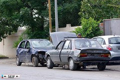 Fiat Punto + Peugeot 305 GR Tunisia 2015 (seifracing) Tags: rescue cars truck punto cops traffic fiat tunisia crash taxi tunis transport police voiture vehicles camion research trucks gr van emergency peugeot spotting services recovery tunisie tunisian tunesien 305 ssangyong 2015 seifracing