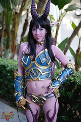 Blizzcon 2015 V Threepio Tags Sexy Costume Outfit Wings Cosplay Horns Worldofwarcraft Warcraft