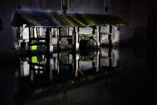 Chartres en Lumières 2015 - Les deux lavoirs Gloriette