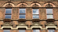 Windows, West 10th Street, Greenwich Village, New York City