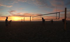 Sunset Nets and Guys