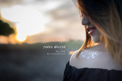 Ask the Butterfly (Bnh M DSLR101) Tags: girls sunset portrait sexy girl beautiful photography photo 25mm f095 mitakon