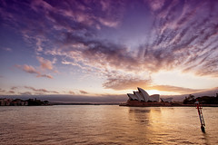 Sydney's Spectacular Sails (Pat Charles) Tags: city morning travel urban tourism architecture sunrise dawn harbor early nikon opera harbour sydney australia nsw newsouthwales therocks 1001nights sydneyoperahouse 1001nightsmagiccity